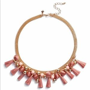Rebecca Minkoff Bauble and Tassel Collar necklace